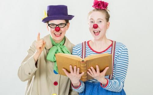 Kindertheater über die Liebe zum Lesen