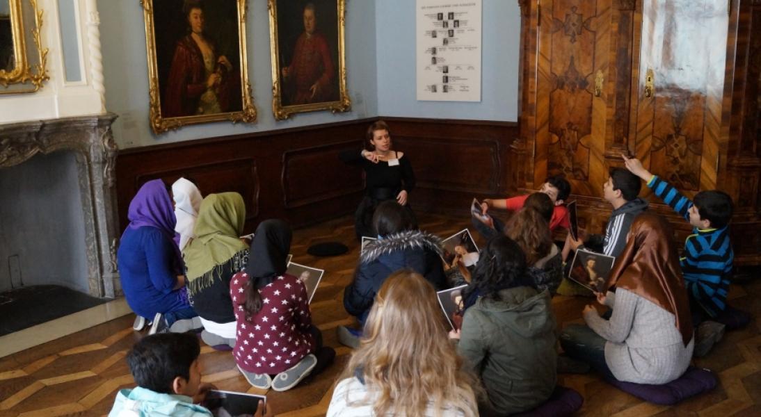 Ü-Klassen im Museum