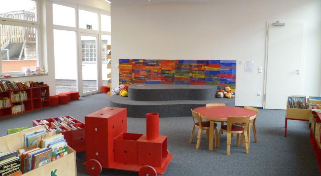 Spielecke der Bücherei Lechhausen