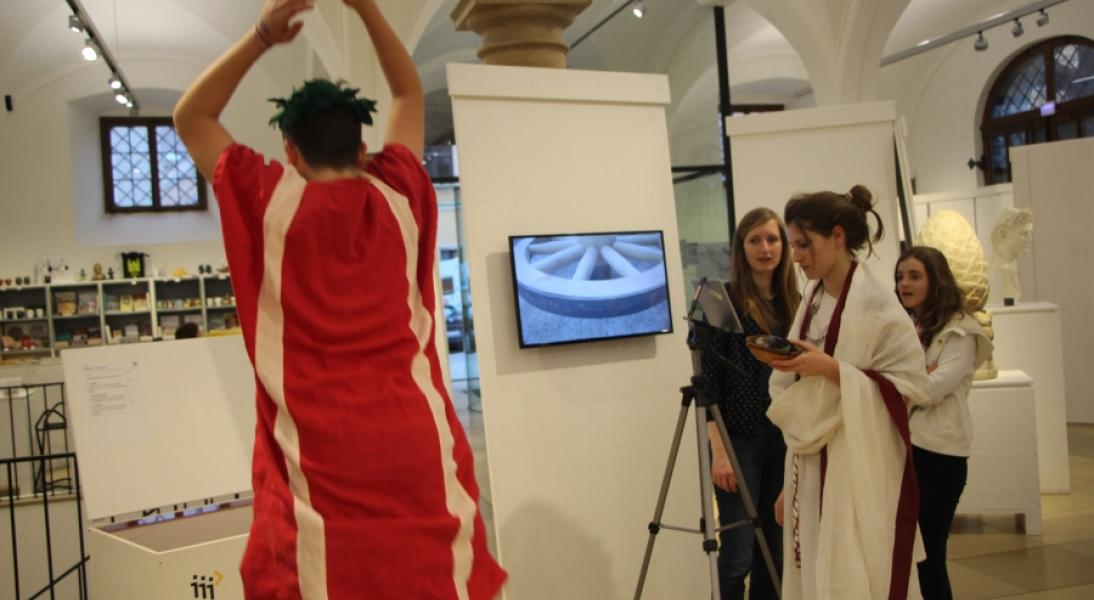"Projekt ""mobil im museum"""