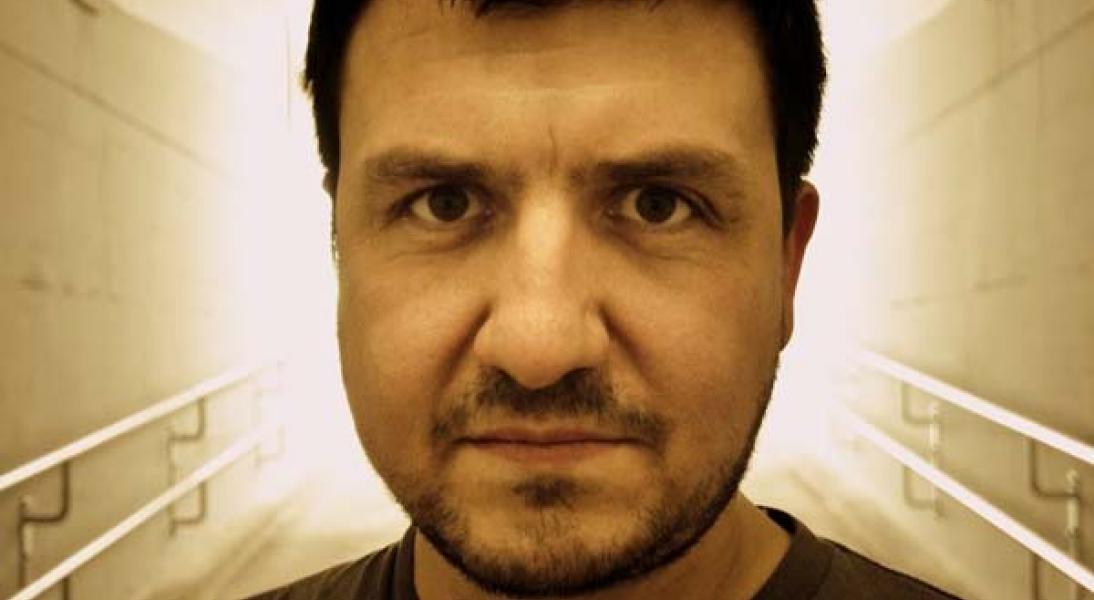 Tom Simonetti vom Soundlaboratorium. Bild von Volker Bogatzki